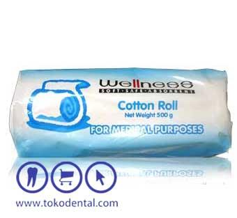 Cotton Roll 500gr Wellness